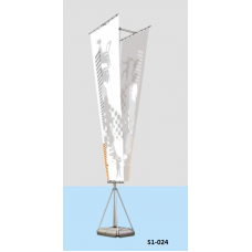 Outdoor Flag stand 5.4 M # S1-024
