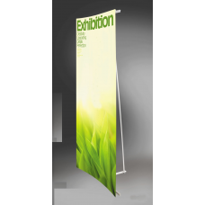 Straight & Curved L-banner Stand# S1-015