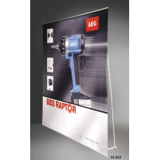 Wider L-Banner Stand  # S1-013