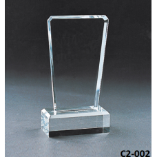 Crystal Trophies  with stand # C2-002