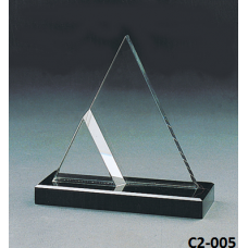 Crystal Trophies  with stand # C2-005