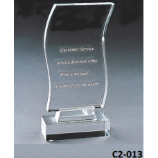 Crystal Trophies  with stand # C2-013
